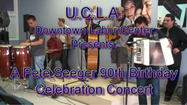 Los Jornaleros del Norte Live at UCLA Labor Center Event